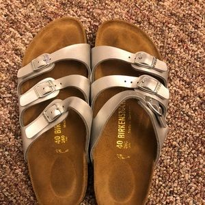 BRAND NEW FLORIDA SILVER SIZE 40 BIRK SIZE